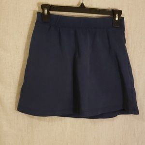 Navy Blue Uniform Skirt
